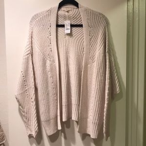 Soft Woven Sweater